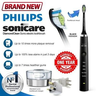 New PHILIPS Sonicare DiamondClean Smart Rechargeable HX9352 Electric Toothbrush