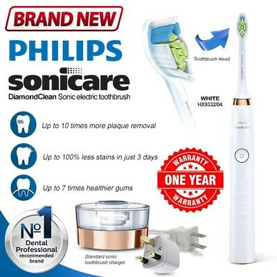 New PHILIPS Sonicare DiamondClean Smart Rechargeable HX9332 Electric Toothbrush