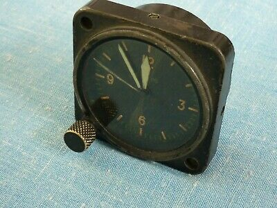 ANTIQUE AIRCRAFT MILITARY CLOCK. LONGINES. WITTNAUER. LeCOULTRE.Co.