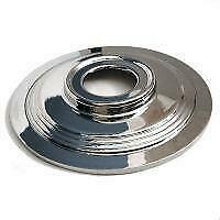 """Wheel Hub Cover, BSA Triumph 8"""" TLS 8"""", Stainless, 37-3460, Imported"""