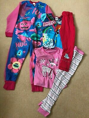 7 to 8 year old girls pj's