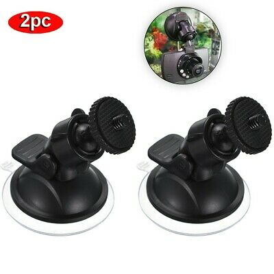 2pc Car Suction Cup Mount Holder Sucker For Nextbase Dash Cam DVR HD Camera
