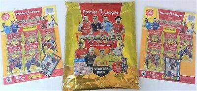 Panini Premier League 2019/20 Adrenalyn XL STARTER PACK+2X MULTIPACK