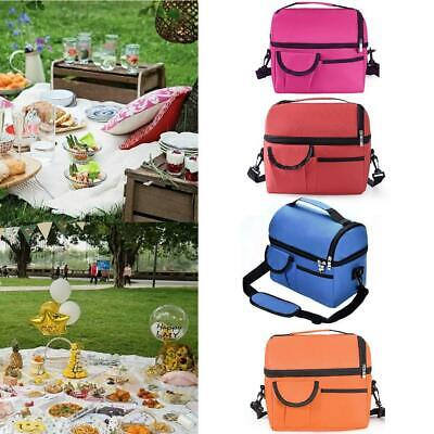 Insulated Lunch-Bag For Women Men Kids Thermos Cooler Adults Tote Food Lunch Box