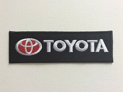 A030 Patch Ecusson Toyota 12*3,7 Cm