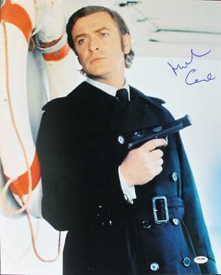 Michael Caine Signed Authentic 16X20 Photo Autographed PSA/DNA #U70486