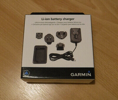 Official Garmin Li-ion Battery Charger for VIRB, Elite, Alpha, Montana, Monterra