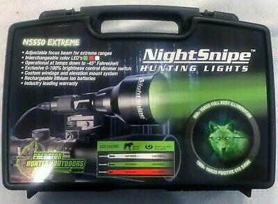 GREEN LED NightSnipe CLASS Coyote Hunting Light Kit 1 or 2 mode 1 Predator