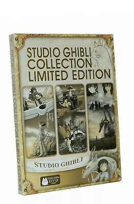 Studio Ghibli Collection Limited Edition 18 Movie Hayao Miyazaki Films DVD