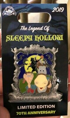 Disney Pin The Legend of Sleepy Hollow 70th Anniversary Headless Horseman LE2000