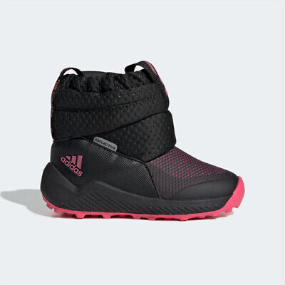 Adidas EE6170 infant toddler Rapida Snow I baby boots black pink kids