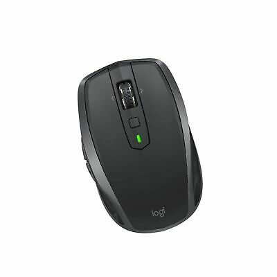 New Logitech Mx Anywhere 2S Wireless Mobile Mouse Color: Graphite Pn: 910-005132