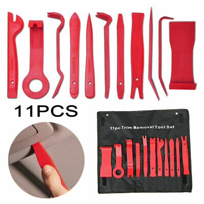 11pcs Car Body Auto Door Panel Console Dashboard Plastic Tool Set Trim Removal