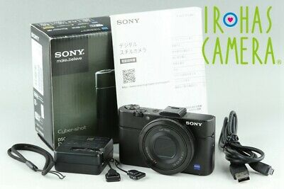 Sony Cyber-Shot DSC-RX100M2 Digital Camera With Box*Japanese Language Only#24015