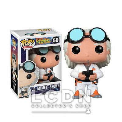 Back to the Future Pop! Movies Dr. Emmett Brown Vynil Figure n°62 FUNKO