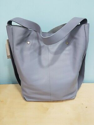 BNWT John Lewis Leather Hobo Bag FREE P&P Modern Rarity Large Grab Slouch Bucket