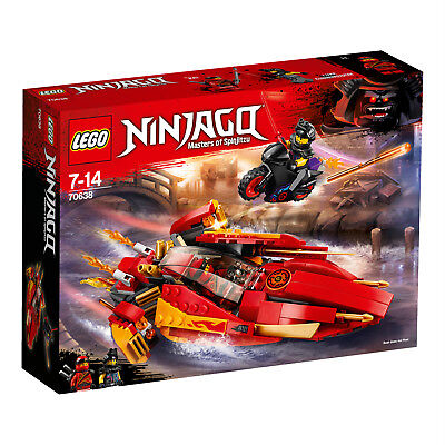 THE LEGO® NINJAGO Movie Katana V11 Le bateau Katana V11 70638 N1/18