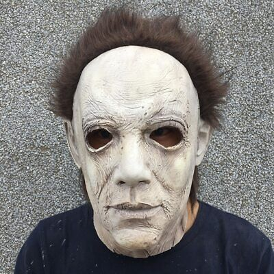 2019 Hot Movie Halloween Horror Michael Myers Mask Cosplay Adult Latex Full Face