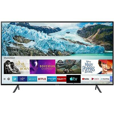 "Samsung UE50RU7100 50"" 4K Ultra HD Smart HDR LED TV with Freeview UE50RU7100KXXU"