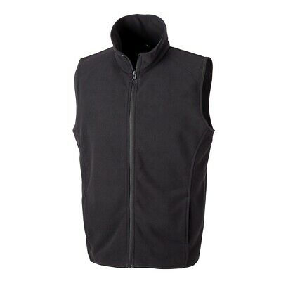 Result Microfleece Gilet Black 3xl