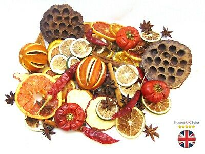250g Mixed Dried Fruit Chillies Orange Slices Christmas Wreath Cinnamon XMAS