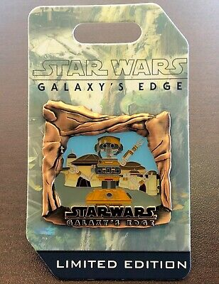Disney Parks Disneyland - DJ R3X REX Star Wars Galaxy's Edge Countdown LE Pin #3
