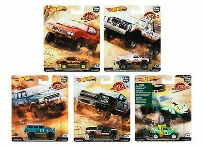 Hot Wheels 2019 Car Culture Desert Rally Set Of 5 From Case Fpy86-956K Free Ship