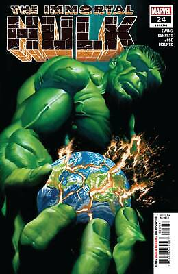 Immortal Hulk #24  Marvel Comics Alex Ross 1St Print Nm