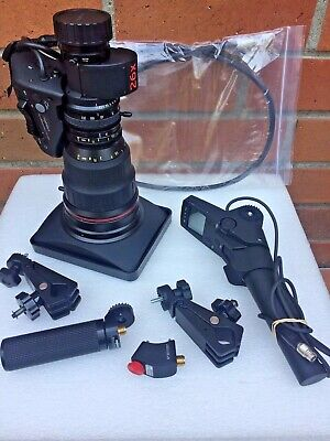 Angenieux T26x7.8 BESMD HD ENG Lens with Semi Servo Remotes