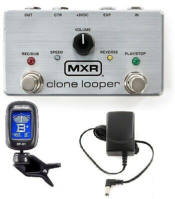 Mxr M303 Clone Looper Guitar Effects Pedal 3 Minutes Recording Time ( Tuner )