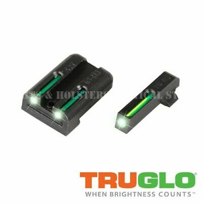 Truglo Tg131St1 Tfo Tritium Fiber Optic Night Sights Green #8 Front & Rear Sig