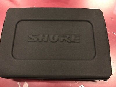 Shure MICROPHONE CASE FOR SHURE BETA 52A SM57 A56D Drum mic case  SPA004