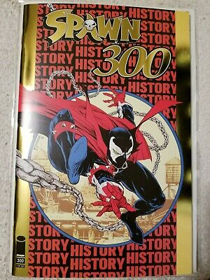 Spawn #300 Gold Foil Image Comics Todd Mcfarlane Nycc Exclusive Limited To 500