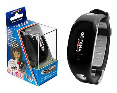 New Datel Gotcha Go-Tcha Evolve Auto Catch for Pokemon Go LED Touch Smartwatch