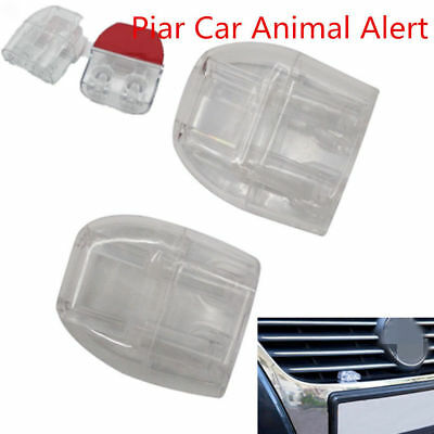4X Sonic Deer Animal Whistles Wildlife Alert Warning Device Car Safety Accessory