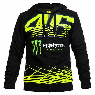 VR46 Official Valentino Rossi Monza Monster Hoodie Fleece  - MOMFL 217104