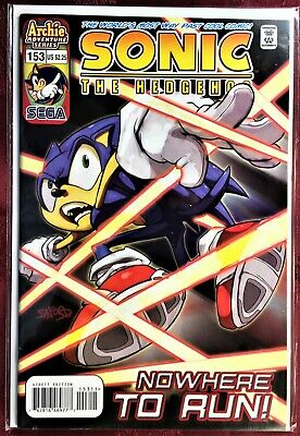 SONIC The HEDGEHOG Comic Book #151 September 2005 First Ed Bagged /& Boarded MINT