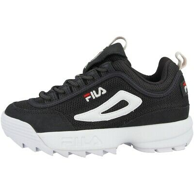 Fila Disruptor Maille Low Chaussures pour Femme Baskets Basses Shadow
