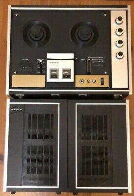 *VINTAGE* SANYO Cassette Tape Recorder with Speakers, Model MR-939