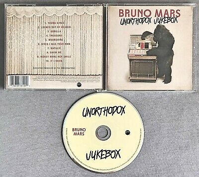 BRUNO MARS - UNORTHODOX JUKEBOX * * 2012 CD Album