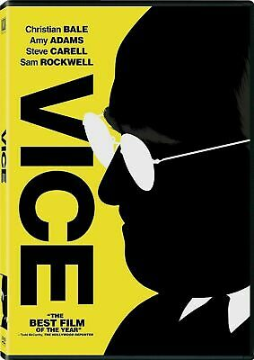 Vice (DVD 2019) NEW Factory Sealed USA SELLER