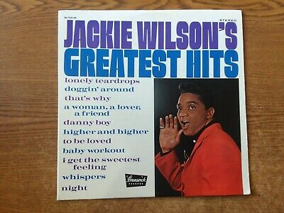 1969 MINT--COVER & VG--LP Jackie Wilson's Greatest Hits 754140 LP33