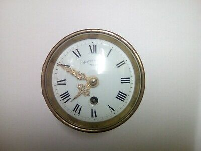 Maple & co clock movement and dial Victorian spare repairs