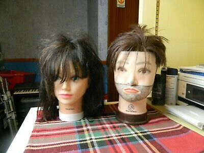 Chris & Sons male & female mannequin heads