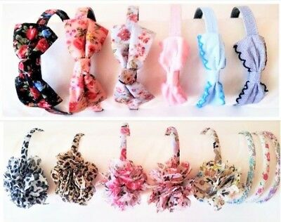 BUY 2 GET 1 FREE - New headband hair band Alice band Fascinator Leopard Floral