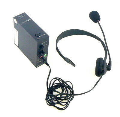 Datavideo ITC-100sl Beltpack and MC-1 Headset - Talkback Intercom
