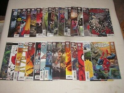 Amazing Spider-Man 1-25 2018 Vf/Nm!!! 32 Issues And Variants