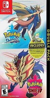 Pokemon Sword and Pokemon Shield Double Pack Nintendo Switch New Sealed Preorder