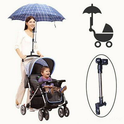 Stretch Umbrella Support Holder Stand for Wheelchair Bicycle Baby Pram Stroller
