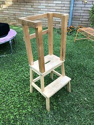 IKEA hack - child learning tower/ step stool